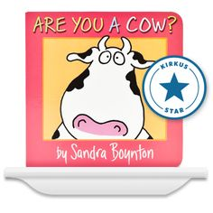 Are You a Cow Board Book? Personalize this book with your child's name and picture! So cute!