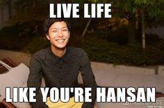 Resultado de imagem para hansan terrace house meme