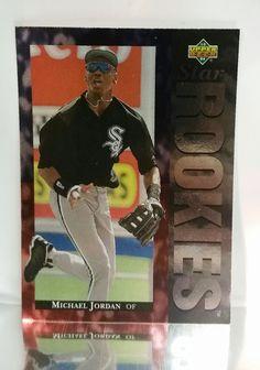 742f6055129 1994 Upper Deck  19 Michael Jordan ROOKIE Card Chicago White Sox MLB  2-Sports NBA Basketball Chicago Bulls