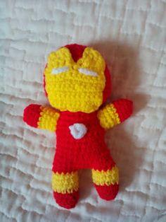 L'uncinetto di Simo e Isa: Iron man