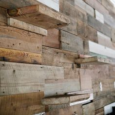 Here's a little teaser of the reclaimed wood wall that we finished up yesterday for @poloclubathens and @jadeoconnordesignsinc @jadeoconnorathens. This is a 17 foot long wall that is 15 feet tall. By far the biggest installation that we've ever built. Can't wait to show you the full wall and the way it transformed this space.