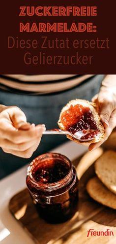 Ganz gleich, für welches Obst Sie sich entscheiden, dieses Superfood ersetzt den Gelierzucker und lässt uns eine zuckerfreie Marmelade herstellen