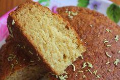 Eggless Whole Wheat Milk Cake Recipe - Yummy Tummy Cake Recipes In Tamil, Pound Cake Recipes, Easy Cake Recipes, Brownie Recipes, Sweet Recipes, Cake Recipes In Cooker, Milk Recipes, Baking Recipes, Snack Recipes