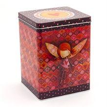 Boite de métal haute - Juju à lulus  / Tall Tin box -  Fairy Juju * www.kettodesign.com