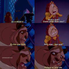 La bella y la bestia.Oh My God Disney And Dreamworks, Disney Pixar, Walt Disney, Disney Love, Disney Magic, Aladdin, Disneyland, Beauty And The Best, Disney Quotes