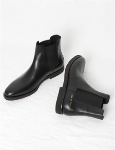 Common Projects Chelsea Boot- Black