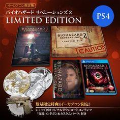 PS4 BIOHAZARD Revelations 2 e-Capcom Limited Edition PlayStation 4 Japan 785