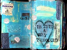 grief (art journal from 2008) by sparkleface on flickr