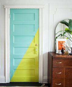 2 color door