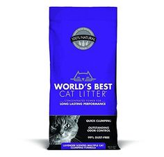 LOOK:  2 PACK WORLDS BEST CAT LITTER 391038 Multiple Cat Scented Clumping Formula