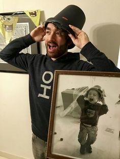 Oliver Heldens being cute