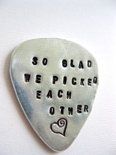 Another personalized guitar pick