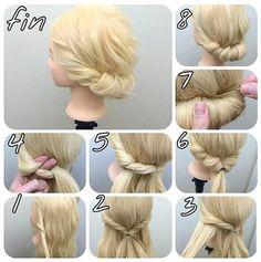 Twist bun
