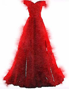 Das poetische Fenster: The Red Dress