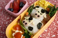 Bento Boxes ... Love everything about this concept--healthy, fun, food as art.  Adult Bentos are perfect for portion control.