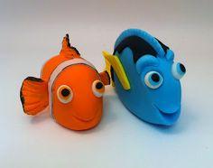 Crafty Rosy: Fondant Nemo and Dory