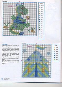 Para los peques... en punto de cruz (pág. 117) | Aprender manualidades es facilisimo.com