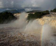 Saltos río Carrao en Canaima