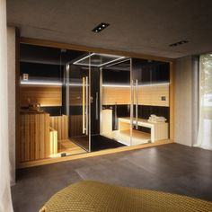 Sauna found with web search. Unknown builder, designer, and photographer