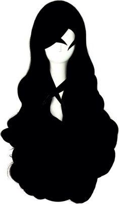 Cosplay LadyGaGa Wigs Black Evil Death Monster Lady