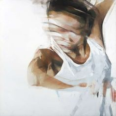 """Simon Birch - """"Untitled"""", painting, oil on canvas, 2008."""