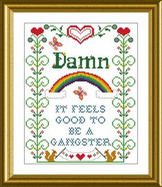 Damn it feels good to be a gangster PDF counted by granniepanties, $4.00