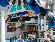 TOMS 4. GEBURTSTAG: UNSERE POLIZEI-PARTY Boy Birthday, Birthday Parties, Happy Birthday, Lego City, City Party, Cool Stuff, Boys, Ideas, Meet