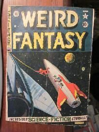 WEIRD FANTASY #9 FREE SHIPPING  EC COMICS 1st print 1950's http://graphic-illusion.com see more here!!!  And buy them directly from me.