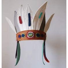 indianerhøvding hovedbeklædning
