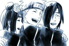 Konan, Nagato and Yahiko