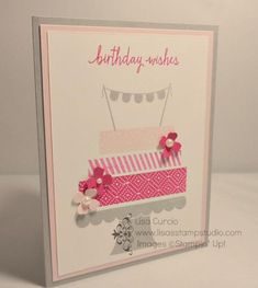 Pretty in Pink by lisacurcio2001 - Cards and Paper Crafts at Splitcoaststampers
