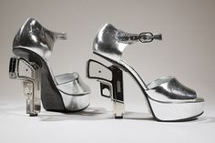Chanel has never played it safe (we're talking to you, Karl Lagerfeld) but these 90 mm gun heels really up the ante. Even Madonna owns a pair.