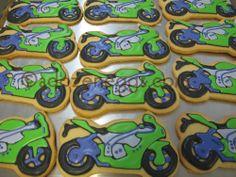 MOTORCYCLE Cookie Favors