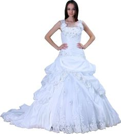 ImPrincess Wedding Dress Vintage Style NO.ip4-6016