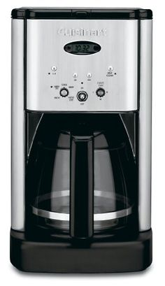 Cuisinart  クイジナート DCC-1200 Brew Central 12-Cup Programmable Coffeemaker 12カップコーヒーメーカー 【並行輸入品】 (Brushed Chrome) Cuisinart (クイジナート) http://www.amazon.co.jp/dp/B00005IBX9/ref=cm_sw_r_pi_dp_q6qdwb053M8WC