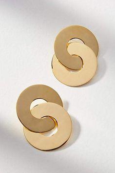 ZOJA Aga Hooped Post Earrings #ad