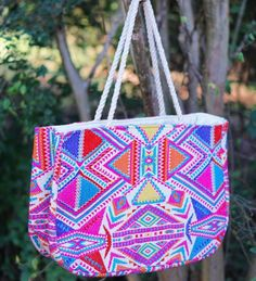Make sure this boho @judithmarch tote is going with you on your spring break vacays!  Snag it now {link in bio} #shopPD