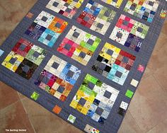 The Quilting Violinist: The Gray Quilt is Finished!
