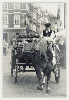 Horse-drawn carriage, Warsaw