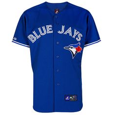 I love this blue!!!  Toronto Blue Jays 2012 Jersey