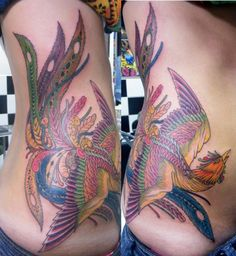 fenix tattoo @Pilar Hernández Acosta