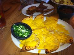 Even breakfast nachos at Maudie's add to the bacon, eggs and pancakes