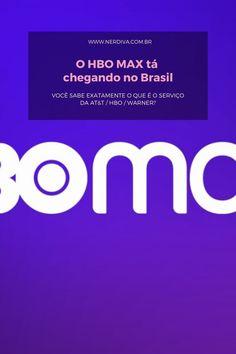 O HBO MAX tá chegando no Brasil - Nerdiva.com.br Cinema, Canal No Youtube, Fresh Prince, Nintendo Wii, Brazil, Movies, Movie Theater