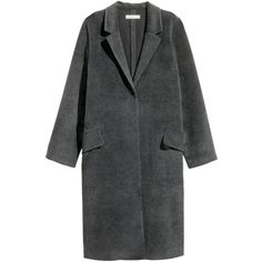 Felted Coat $59.99 (€57) via Polyvore featuring outerwear and coats