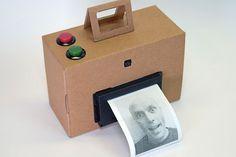 Make your own DIY Polaroid camera with a Rasberry Pi and a receipt printer