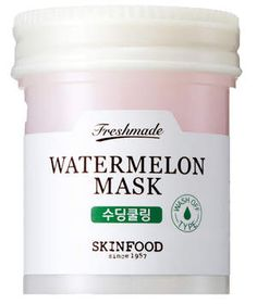 SkinFood Freshmade Watermelon Mask | These ultra hydrating products will give you a taste of the summer season all year long.