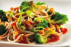 Soba Noodles with Broccoli Sauce — Punchfork