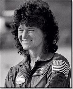 On June 18, 1983, Sally Ride became the first American woman to orbit Earth when she flew aboard Space Shuttle Challenger. Dr. Ride, who was an astrophysicist, flew on another shuttle mission in 1984. She later became a professor of physics.