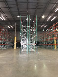 Newly installed warehouse storage system – FlexRack® pallet rack from Next Level. Warehouse, Pallet, Storage, Purse Storage, Shed Base, Palette, Larger, Pallets, Wooden Pallets