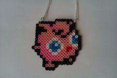 Pokemon Jigglypuff Bead Sprite Necklace